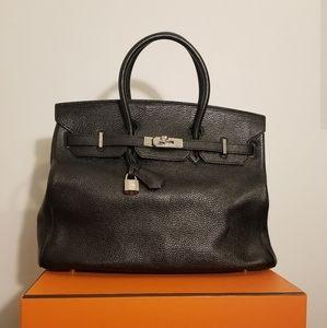 Hermes Birkin Togo Noir 35